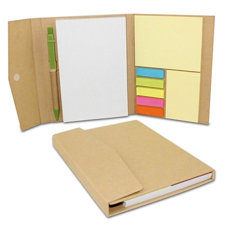 Block de Post It con Lapicero ECO6029